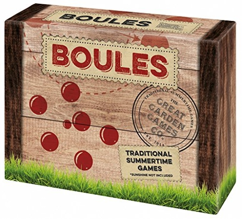 Moses. 92094 Wooden Game Boules Set, Kugelspiel aus Holz Bild 1