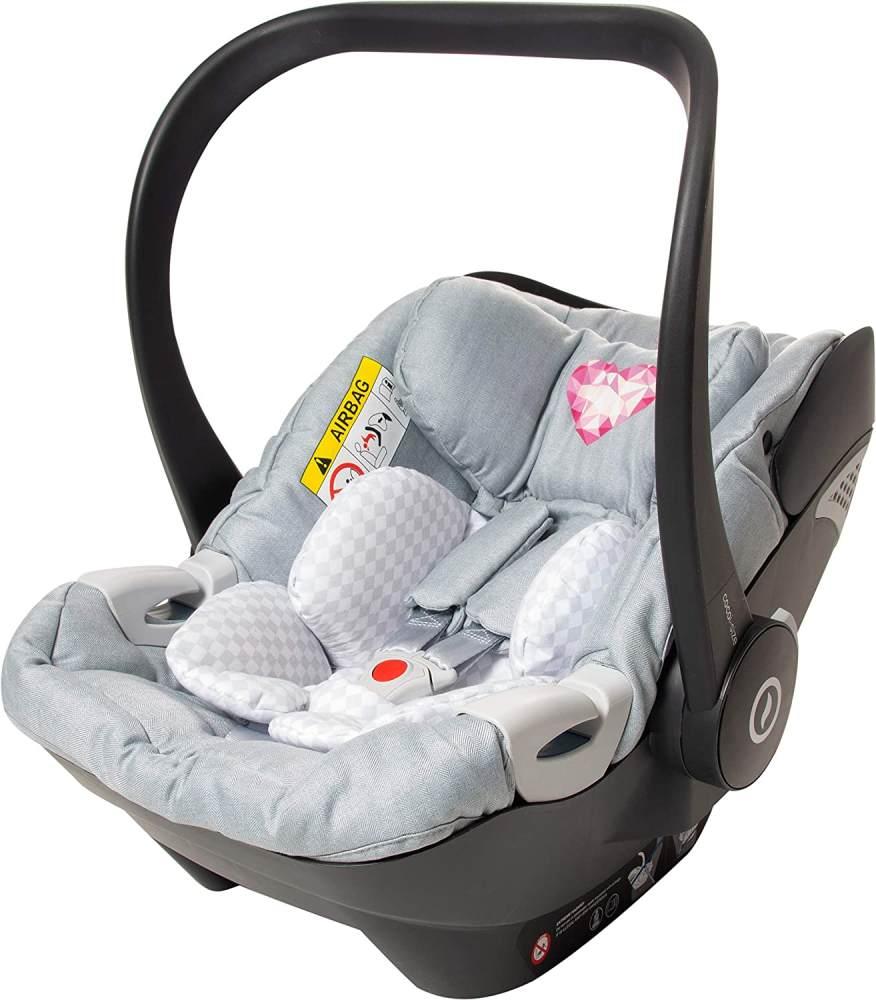 Osann 'Coco i-Size' Babyschale by Sarah Harrison Heart Bild 1