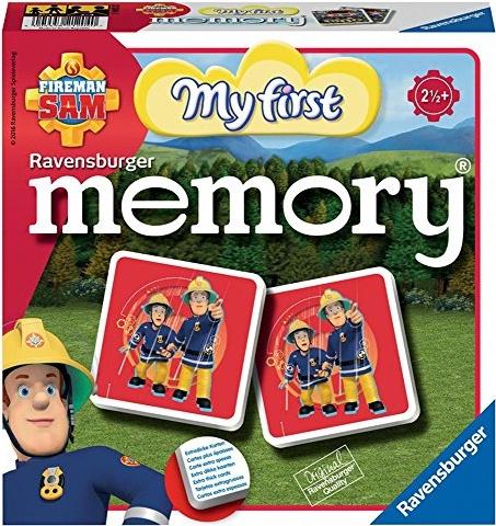 Ravensburger Fireman Sam Mein erstes Memory, 00.021.204 Bild 1