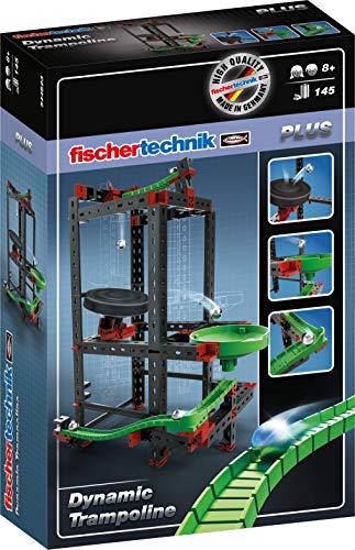 fischertechnik Trampoline - ideales Kugelbahn-Erweiterungsset für die fischertechnik Konstruktionsbaukästen der Dynamic-Linie - hier ist konstruieren und Spielspaß angesagt Bild 1