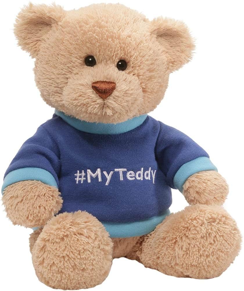 GUND 4059086My Teddy Blue Soft Spielzeug Bild 1