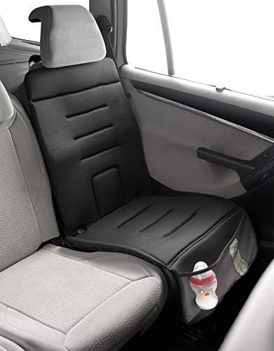 Jané 050314C01 Schutzunterlage für das Auto zur Verwendung von Kindersitzen, für empfindliche Sitzbezüge und Leder, rutschfest, schwarz Bild 1