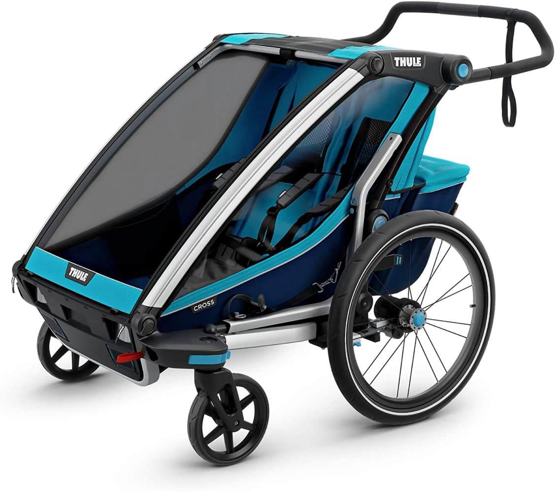 Thule 'Chariot Cross 2' Fahrradanhänger 2020 Blau, 2-Sitzer Bild 1