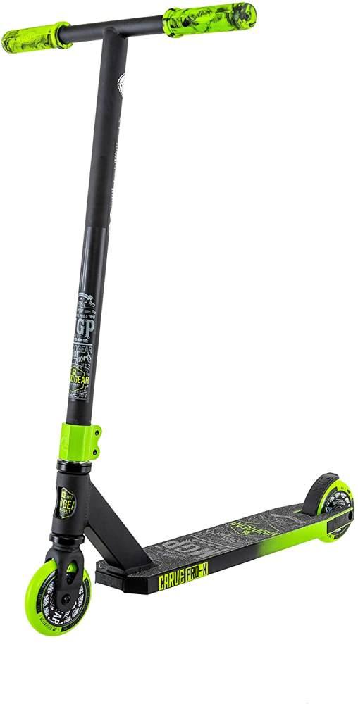 MADD Unisex Jugend Carve Pro-x Scooter, schwarz/grün, 78 cm Bild 1