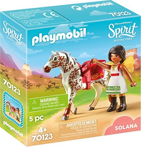 PLAYMOBIL 70123 Spirit - Riding Free Solana beim Voltigieren, bunt Bild 1