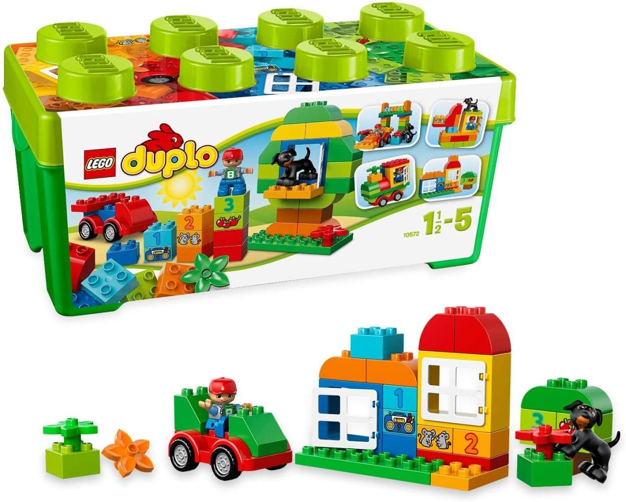 LEGO 10572 DUPLO Große Steinebox, Kreatives Lernspielzeug Bild 1