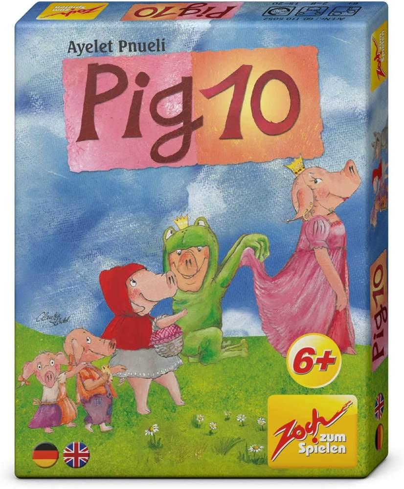 Zoch Noris 601105052 Pig 10, Kartenspiel Bild 1