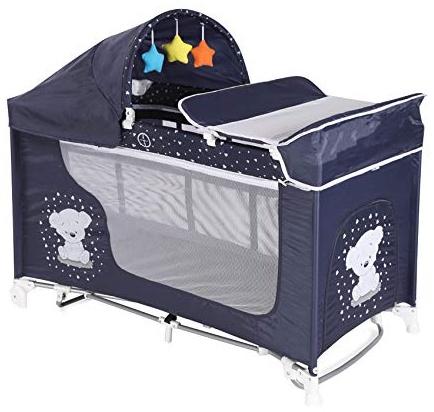 Lorelli 10080421832 Kinderbett, zusammenklappbar, Moonlight Bild 1