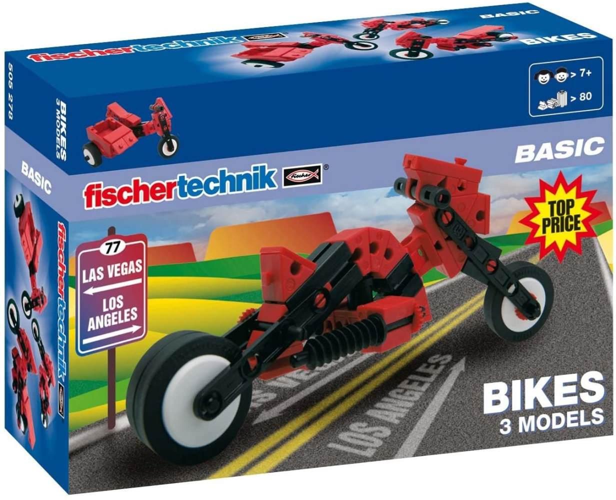 fischertechnik BASIC Bikes, Konstruktionsbaukasten - 505278 Bild 1