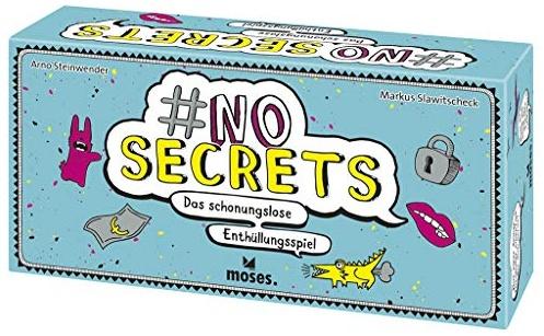 Moses 90311 no Secrets   Das schonungslose Enthüllungsspiel   Partyspiel ab 14 Jahren, Mehrfarbig Bild 1