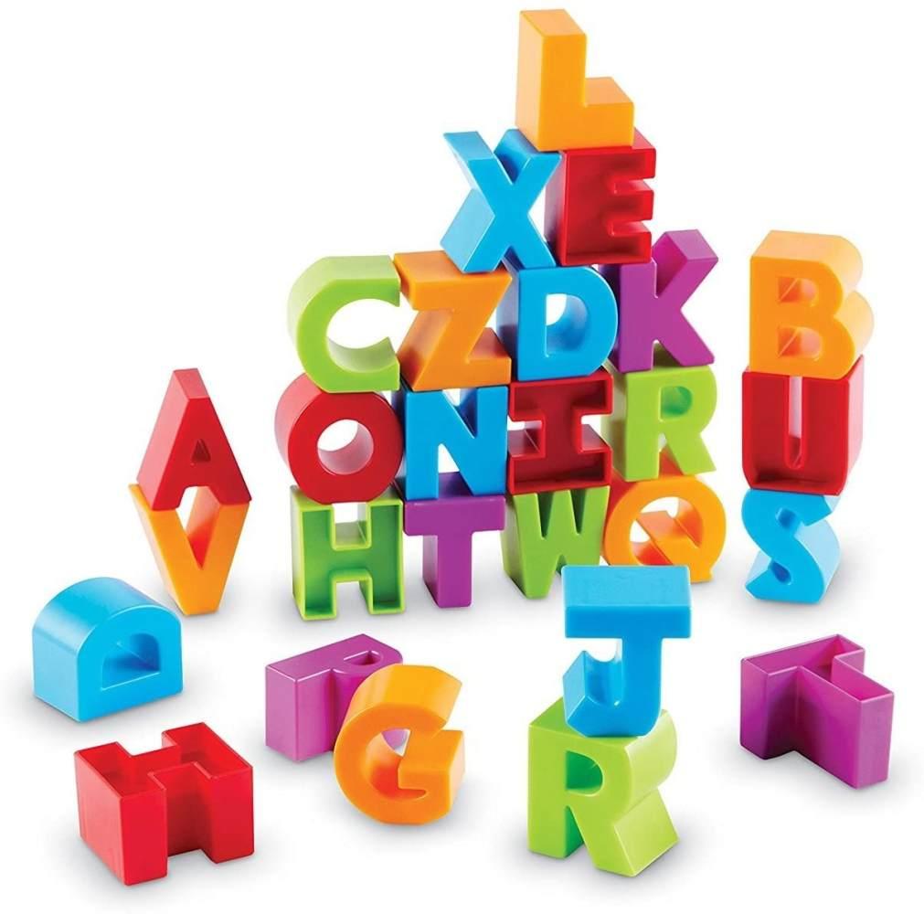 Learning Resources Buchstaben-Klötze Bild 1