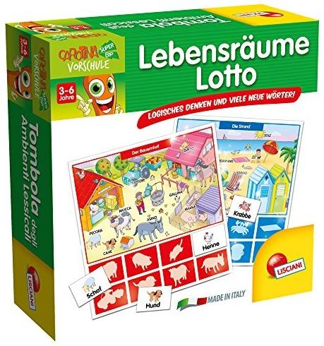 Lisciani 54732 - Lebensräume Lotto Bild 1