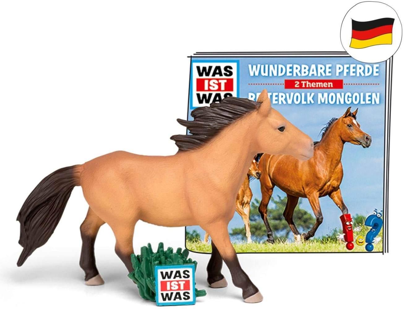 tonies Hörfiguren für Toniebox - was IST was - Wunderbare Pferde / Reitervolk Mongolen - ca. 79 Min. - Ab 6 Jahre -DEUTSCH Bild 1