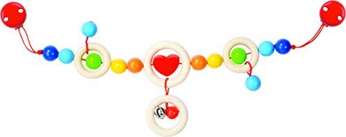 Heimess Kinderwagenkette Herz mit Clips Bild 1