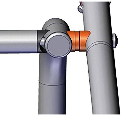 Croozer Unisex– Erwachsene Abstandshalter-3092018650 Abstandshalter, Silber, One Size Bild 1
