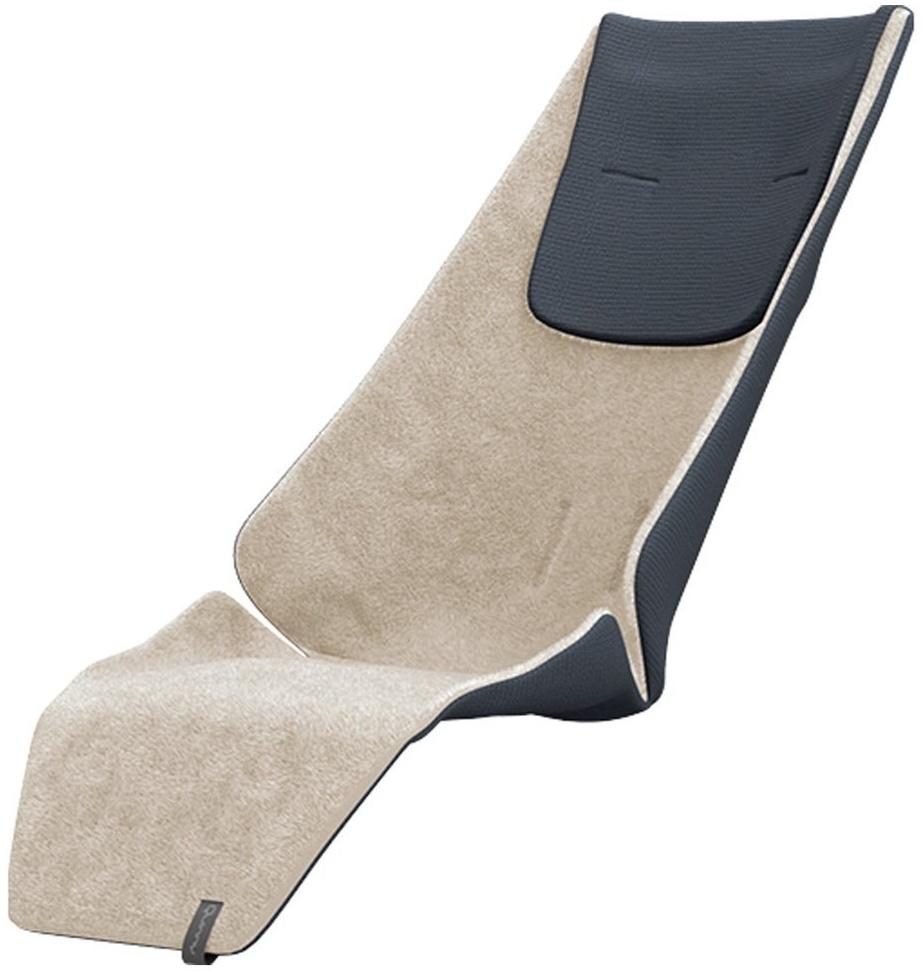 Quinny 1084651000 Zapp Buggy Winter-Sitzauflage Teddy on knit Flex Plus, Xpress, beige Bild 1