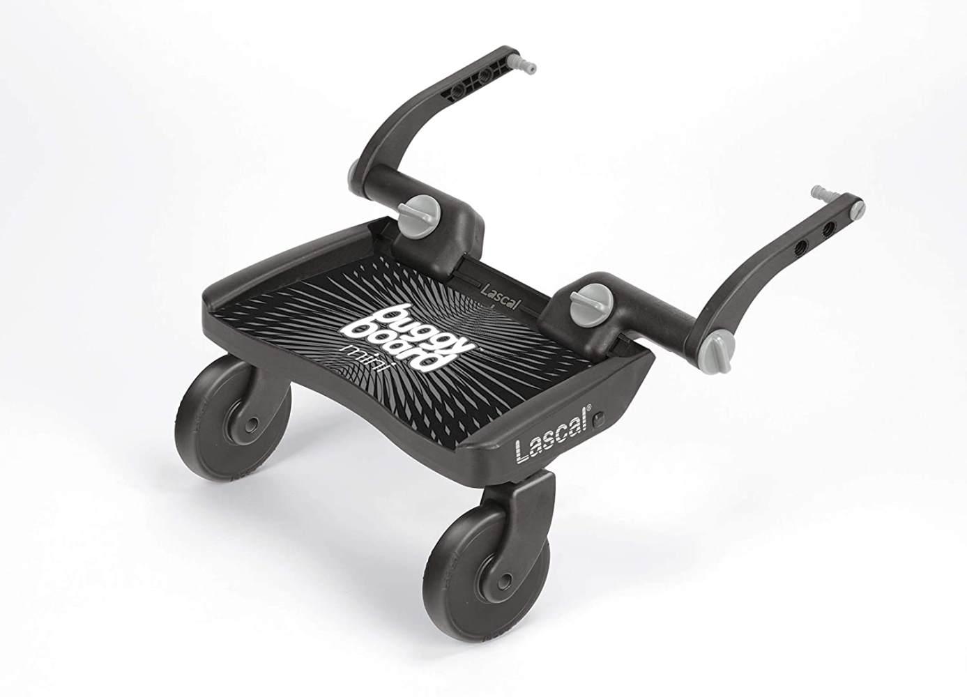 Lascal 'Mini' Buggyboard Mini Schwarz, universell einsetzbar Bild 1
