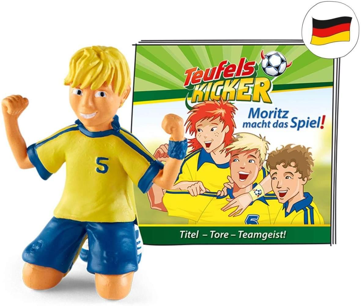 tonies Hörfiguren für Toniebox - Teufelskicker - Moritz Macht das Spiel - ca. 51 Min. - Ab 6 Jahre -DEUTSCH Bild 1