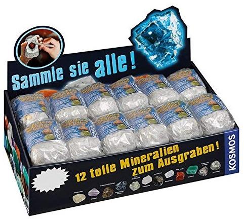 Kosmos 601607 Mineralien & Fossilien-Preis für 1 Stück Bild 1