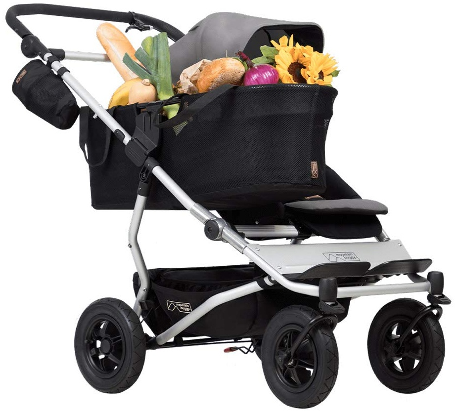 Mountain Buggy 'Duet V3 as a single' Kinderwagen 2020 Silver Bild 1