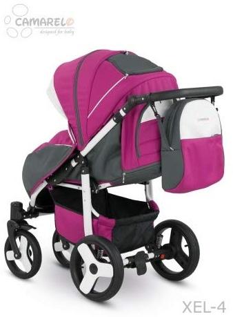Camarelo Elf - Sportwagen Buggy - Gestell weiss Farbe XEL-4 pink/Gestell weiss Bild 1