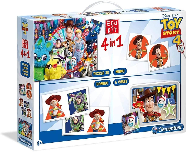 Clementoni 18058 Edukit 4 in 1 - Toy Story 4, Mehrfarben Bild 1