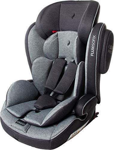 Osann Kinderautositz Flux Isofix, Gruppe 1/2/3 (9-36 kg), Autositz Grau melange Bild 1