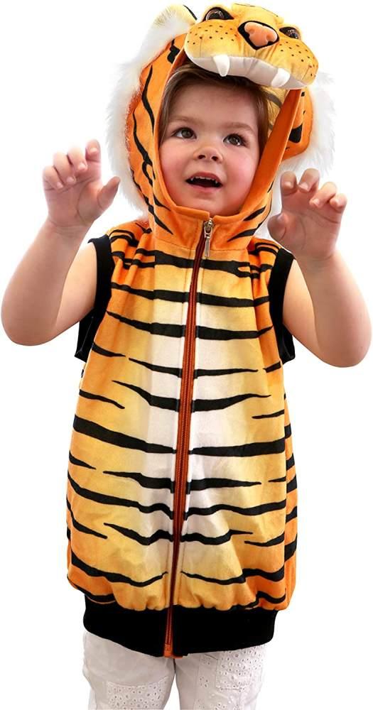 Kostüm-Weste Tiger Bild 1