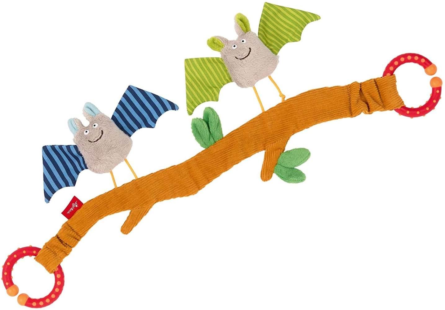 sigikid, Mädchen und Jungen, Wagenkette, Fledermaus, Baby Activity, Mehrfarbig, 42293 Bild 1