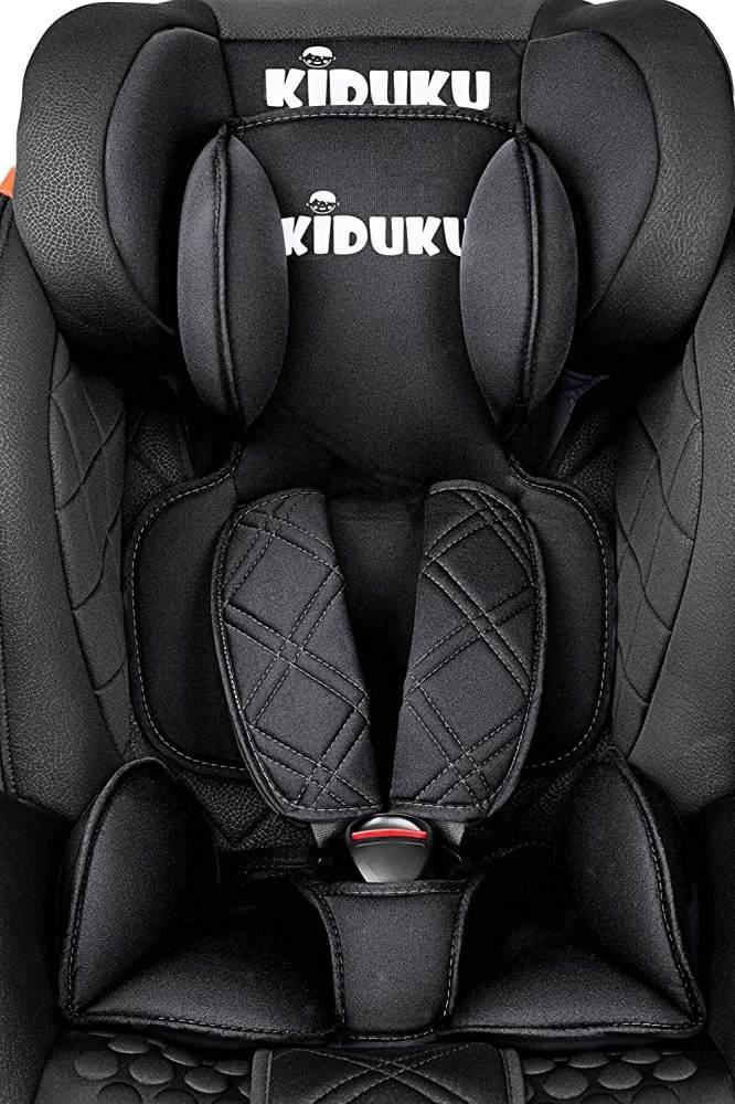 KIDUKU Autokindersitz, Schwarz, 9-36 kg (Gruppe 1/2/3) Isofix Bild 1