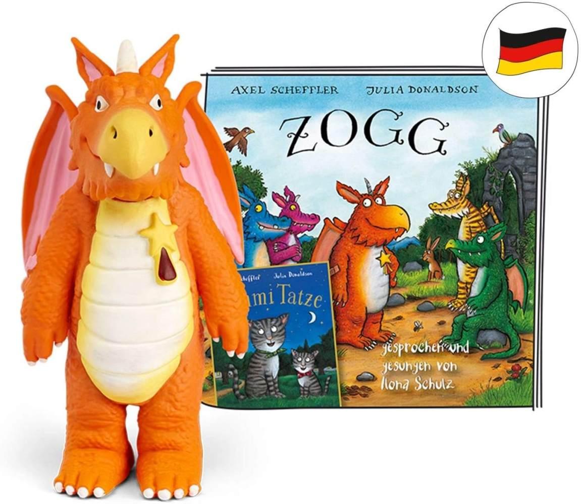 tonies Hörfiguren für Toniebox - Zogg Hörspiele Figur: ZOGG und Tommi TATZE - ca. 50 Min - ab 4 Jahre - DEUTSCH Bild 1