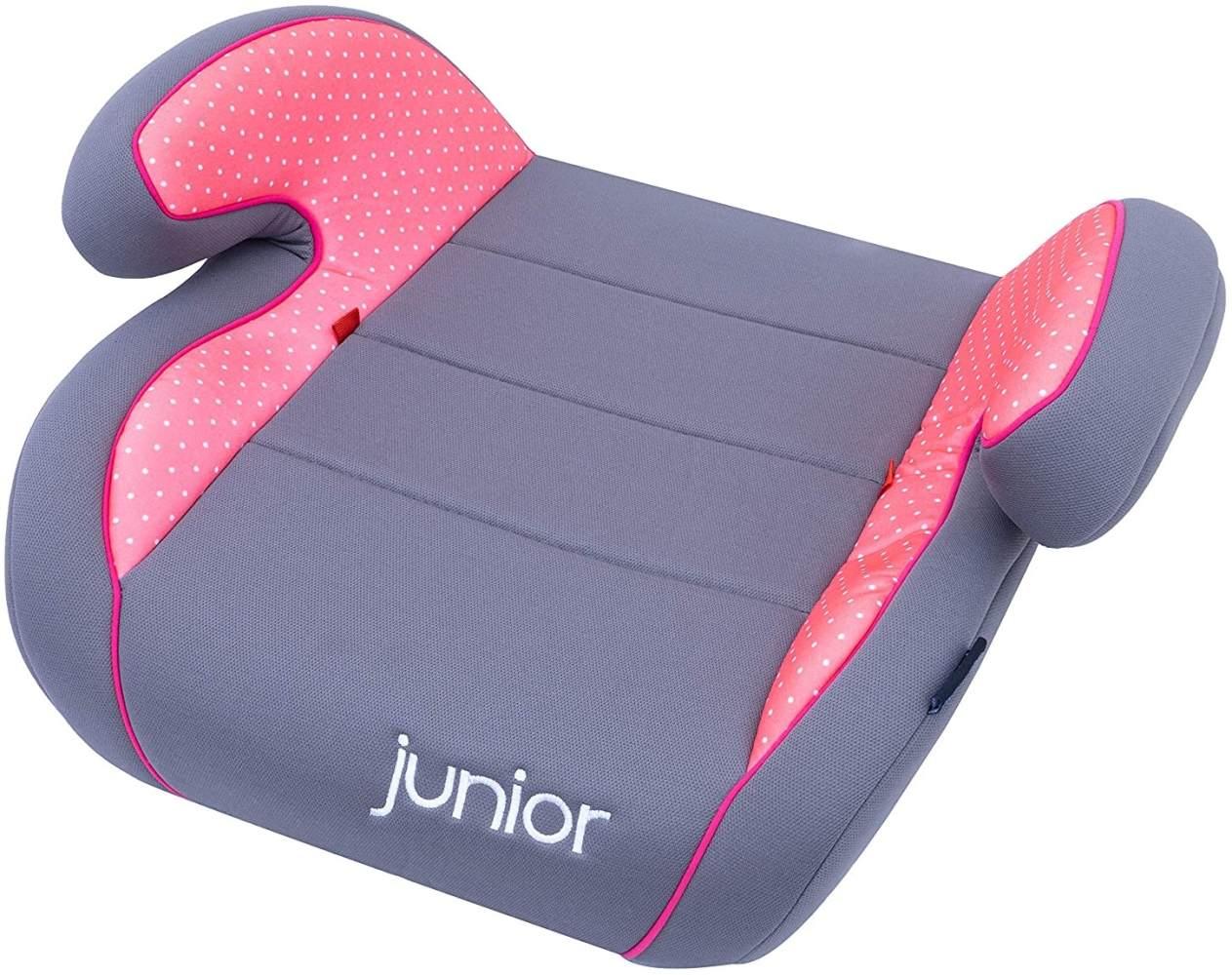 Petex 'Max' Kindersitzerhöhung grau/rosa Bild 1