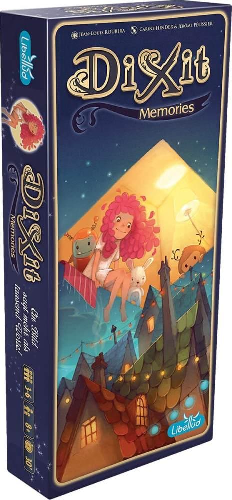 Asmodee 003138 - Dixit 6 - Big Box Memories Bild 1