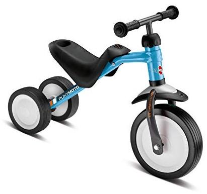 PUKY 3040 'PUKYMOTO' Laufrad, für Kinder ab 83 cm Körpergröße, bis 20 kg belastbar, höhenverstellbar, blau/anthrazit Bild 1