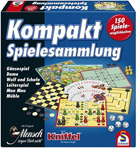 Schmidt Spiele 49188 Kompakt Spielesammlung Bild 1