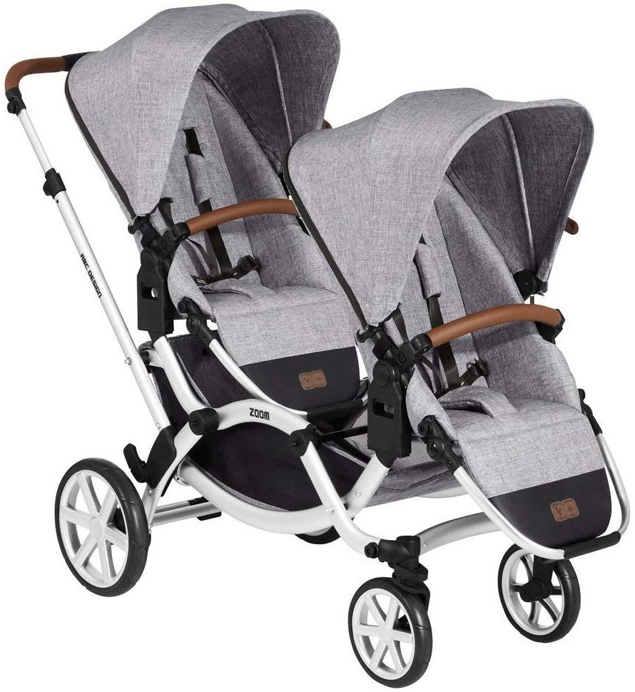 ABC Design 'Zoom' Geschwister- und Zwillingswagen 2020 Graphite Grey Bild 1