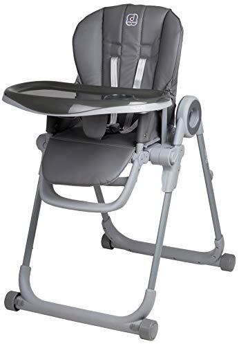 BabyGo 'Divan' Kinderhochstuhl, Grau Bild 1