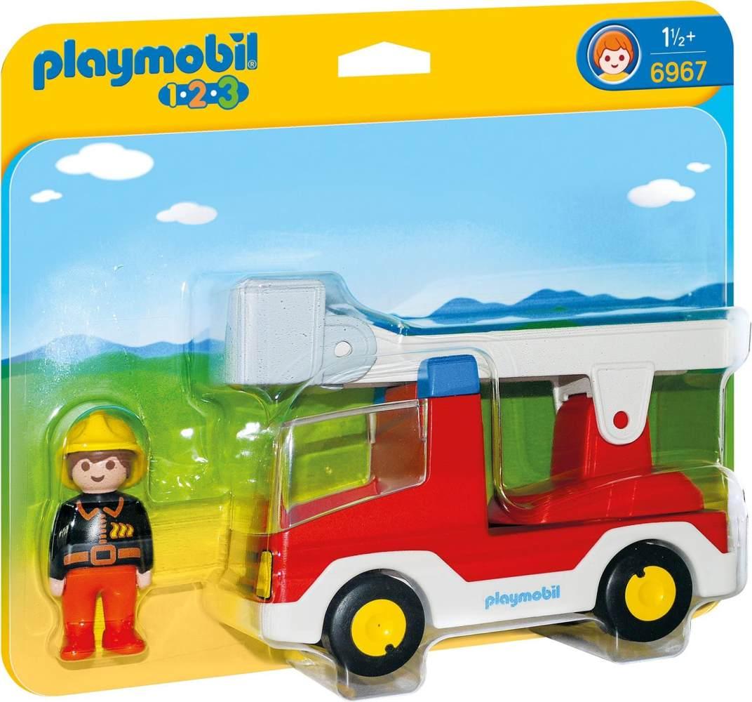 Playmobil 6967 - Feuerwehrleiterfahrzeug Bild 1