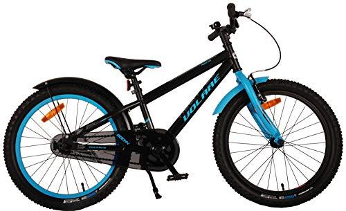 Fahrrad - Volare Rockey - 20 Zoll - schwarz/blau Bild 1