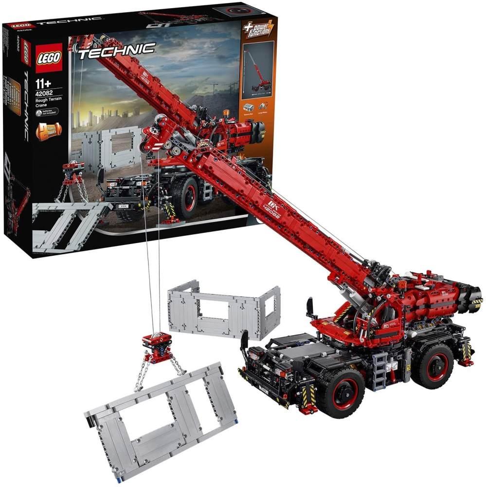LEGO Technic 42082 'Geländegängiger Kranwagen', 4057 Teile, ab 11 Jahren, großes 2-in-1-Modell mit Funktionen Bild 1