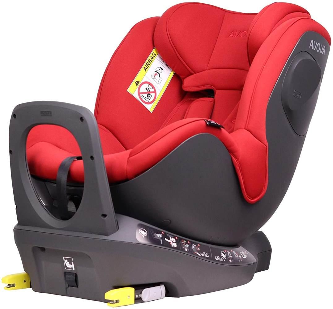 Avova 'Sperber-Fix i-Size' Autokindersitz Maple Red Bild 1