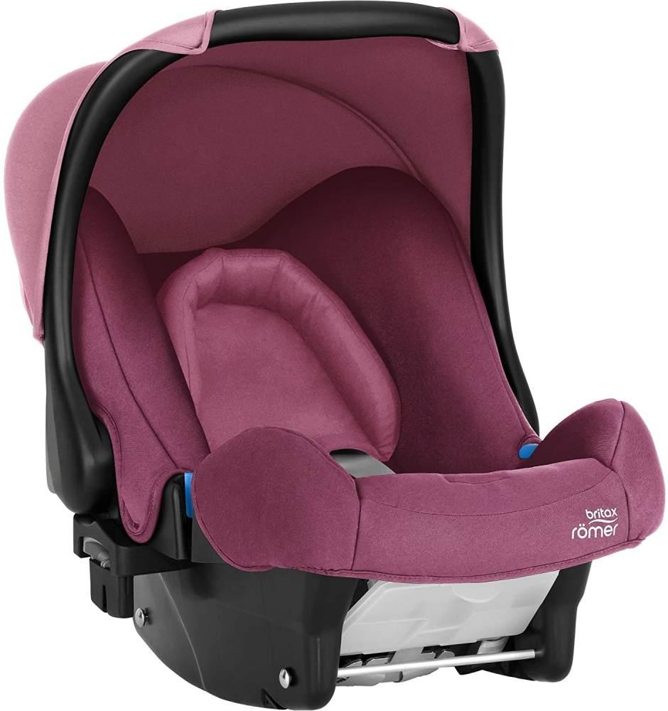 Britax Römer Babyschale Geburt - 13 Monate I 0 - 13 kg I BABY-SAFE Autositz Gruppe 0+ I Wine Rose Bild 1