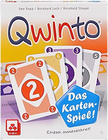 NSV - 4045 - QWINTO - Kartenspiel Bild 1