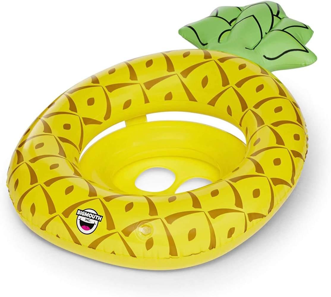 BigMouth Toys Big Mouth Lil Float Ananas, Mehrfarbig Bild 1
