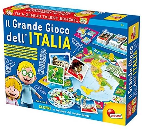 Lisciani Spiele 51156 Das große Spiel Dell'Italia Bild 1