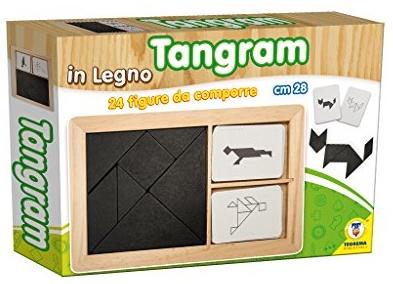 TEOREMA Satz 40523–Tangram mit Figuren zusammensetzen Bild 1