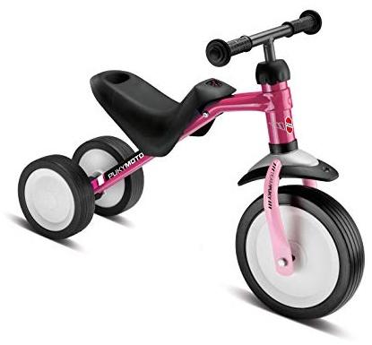 PUKY 3041 'PUKYMOTO' Laufrad, für Kinder ab 83 cm Körpergröße, bis 20 kg belastbar, höhenverstellbar, berry/rose Bild 1
