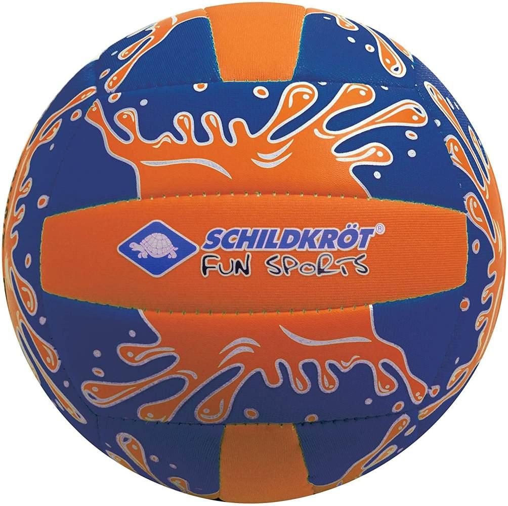 Schildkröt Funsports Neopren Mini-Beachvolleyball GR. 2 Ø 15cm, Kleiner Volleyball, 970274 Ball, orange/Blau, 2 Bild 1