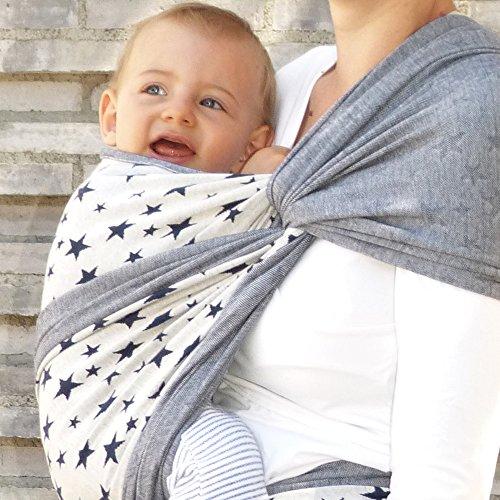 Didymos Babytragetuch Jersey Doubleface Sterne Gr.8 Bild 1