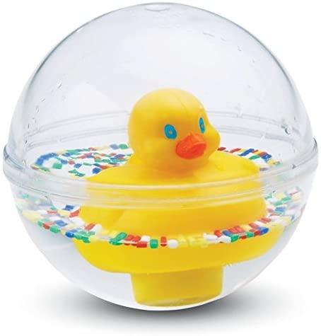 Fisher-Price 75676 - Entchenball Badespielzeug und Baby Spielzeug gelb für Baby und Kleinkinder, ab 3 Monaten Bild 1